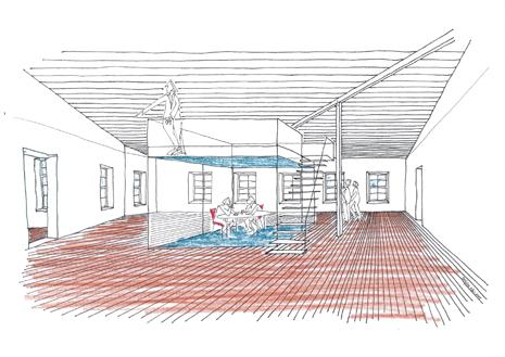I gamla packhallen finns möjlighet till nya spännande kontorsmiljöer