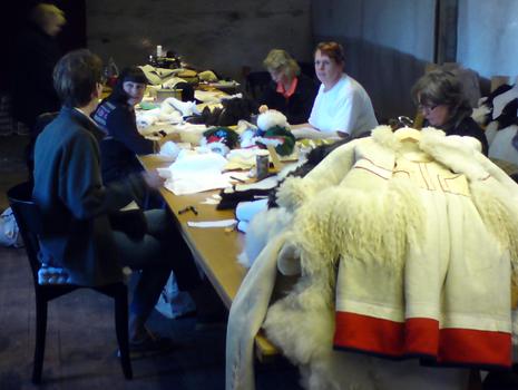 Skinnsömnadskurs i Lindbacka kvarn