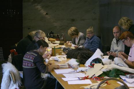 Skinnsömnadskurs hösten 2009 med Täpplars Arnesson