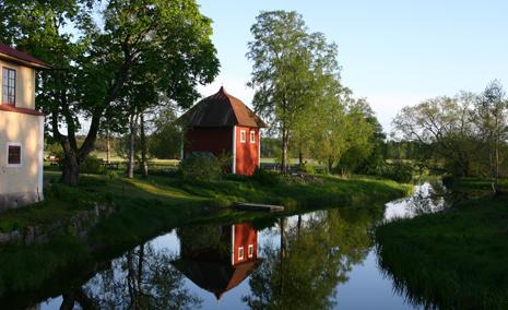 Utsikt från Gamla fabriken och Kvarnen